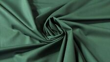 "Canvas Twill Dk Teal Green Poly Cotton Fabric 7 Oz 65"" W Apparel Upholstery"