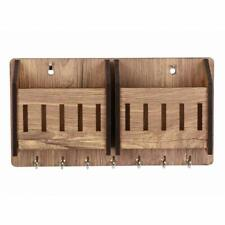 Wooden Key Holder Beautiful Handmade Mobile Holder Key Stand For Home/Offices