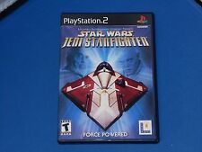 Playstation 2 Star Wars Jedi Starfighter Video Game Complete! Clean Disc!
