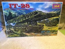 ICM MAQUETTE IT 28 WWII SOVIET BRIDGELAYER TANK COMPLET EN BOITE 1/35