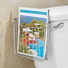 Tank Magazine Rack Holder Newspaper Organizer Storage Toilet Bathroom Sturdy NEW