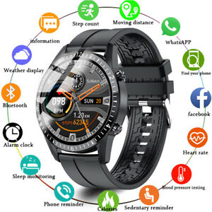 Bluetooth 4.0 Calling Smart Watch Heart Rate Bracelet for Android Samsung Huawei