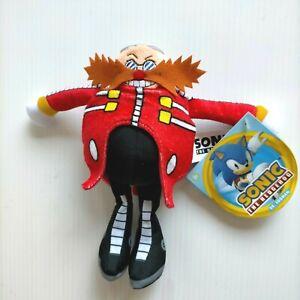 "SEGA Sonic the Hedgehog Dr Eggman Plush Stuffed Toy NEW with Tags 7"""
