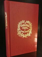 A Christmas Carol by Charles Dickens Deluxe Hardcover Collectible Book