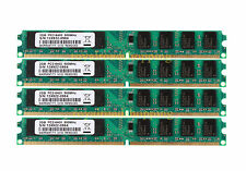 8GB 4X 2GB PC2-6400 DDR2 800MHz 240PIN DIMM Desktop AMD Motherboard RAM Memory