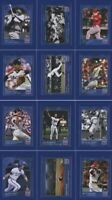2019 Topps 150 Years of Baseball Complete Set 132 Cards + Checklist (PR *637)