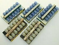Vintage Sylvania Blue Dot Flashbulbs Lot of 5 Boxes M2 & M2B Blue Clear Photo