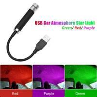 USB LED Auto Atmosphäre Sternlicht Dach Sternenhimmel Projektor Laserlampe.y