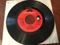 "James Brown ""Kiss In 77""/ ""Woman"" 45 FUNK SOUL on Polydor Label in E+/NM-"
