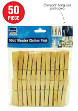 150 x Wooden Clothes Spring Pegs Laundry Washing Length 72mm AUSSIE SELLER WASH