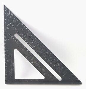 "Aluminum Alloy Speed Square 7"" Combination Carpenter's Miter Protractor Framing"