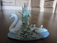 Lladro Figurine - Swan Family