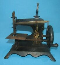 machine a coudre miniature - sewing antique  toys -