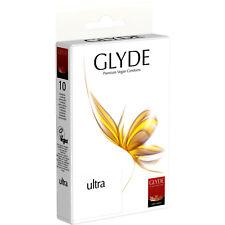 Glyde vegane Kondome | Ultra | 10er Pack | vegan | normal | Single