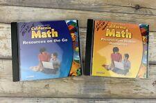Houghton Mifflin California Math Resources on the Go & Presentation Station Reso