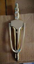 slimline brass door knocker.