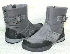 ✿ MERRELL Granite Waterproof Suede Leather Performance Zip Boots 7 M L@@K!14