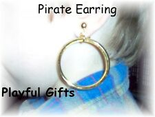 12 Pirate Gold Earring  Treasure Party Favors