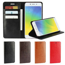 Business Wallet Stand and Card Holder Cover Case for Oppo R9s