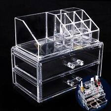 new Acrylic Cosmetic Organizer Drawer Makeup Case Storage Insert Holder Box