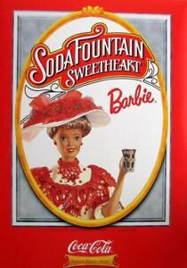 Soda Fountain Sweetheart Barbie COCA COLA Fashion Classic #15762 NRFB or shipper