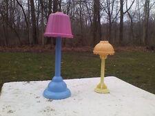 Fisher Price Loving Family Lamp Dollhouse Living Room Floor Light Set