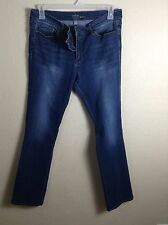 NEW YORK & COMPANY SOHO womens jeans curve creator boot cut size 14