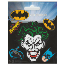 Batman Stickers 1 Large 4 Small Self Adhesive