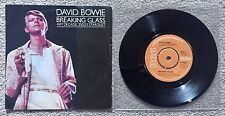 "DAVID BOWIE - BREAKING GLASS RCA VICTOR - UK PS 45 7"" 3-Track EP 1978 ⭐️⭐️⭐️⭐️⭐️"