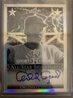 2017 Leaf Sports Heroes ORLANDO CEPEDA AUTO - St. Louis Cardinals