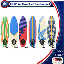 """66.9"""" Surfboard Surf Foamie Boards Surfing Beach Ocean Body Boarding Water Sport"""