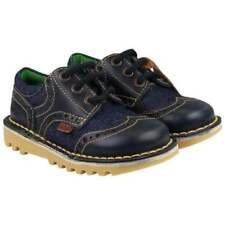 Chaussures décontractées bleus Kickers pour garçon de 2 à 16 ans