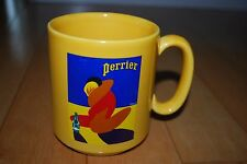 Perrier Succession Villemot 1999 Editions Clouet France Yellow Mug Cup Ceramic