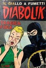 DIABOLIK SECONDA SERIE n. 25 - ORIGINALE dicembre 1965