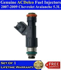OEM ACDelco One FLEX Fuel Injector For 2007-2009 Chevrolet Avalanche 5.3L