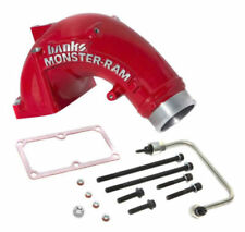 "Banks 3.5"" Monster Ram Intake Elbow Kit fits 07-17 Dodge 6.7L Cummins Diesel RED"