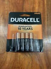 DURACELL AAA ALKALINE BATTERIES - 8 PACK - FRESH **EXP 2028**