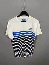 Adidas Trébol Camiseta-Tamaño Grande-Blanco-Excelente Estado-Para Hombre
