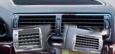 D BMW E38 7er Chrom Rahmen für Lüftungsschacht - Edelstahl poliert 3 Teile