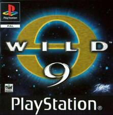 Wild 9 Original Black Label Sony PlayStation Ps1 Ps2