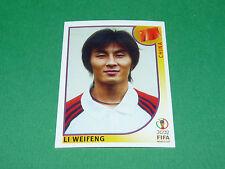 N°211 LI WEIFENG CHINA CHINE PANINI FOOTBALL JAPAN KOREA 2002 COUPE MONDE FIFA