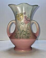 Vintage 1940's Hull Art Vase - 611 - Poppy Vase - 6 ½ inches tall - Beautiful