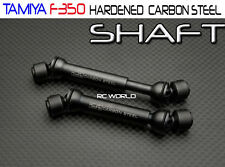 Tamiya HighLift  - FORD F350 & HILUX - Hardened CARBON  STEEL DRIVE SHAFTS