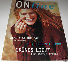 ON LINE FALL and WINTER men womens knitting yarn pattern book with 27 Designs