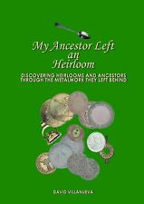 Book Detect Genealogy, Family History, Heirlooms, ancestor, from metal artifacts