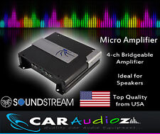 SOUNDSTREAM P4.140 4 Channel Car Amp Amplifier for Speakers top quality premium
