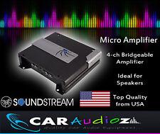 SOUNDSTREAM P4.140 4 Canali AUTO AMPLIFICATORE AMP per Altoparlanti Alta Qualità Premium