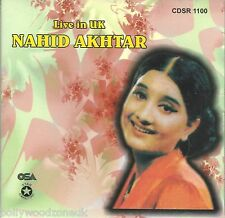 NAHID AKHTAR LIVE IN UK - BRAND NEW SOUNDTRACK CD