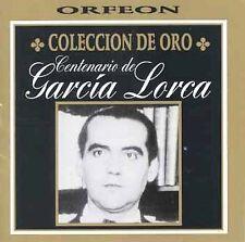 Poesias De Garcia Lorca: Coleccion De Or CD