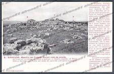SIRACUSA CITTÀ Cartolina 9. Serie CASA DEI VIAGGIATORI